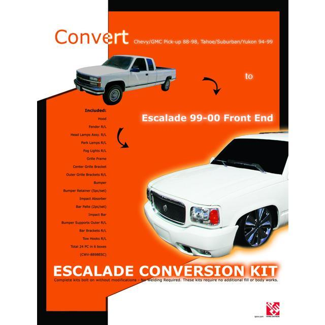 Ipcw Front End Conversion Kit To 99 00