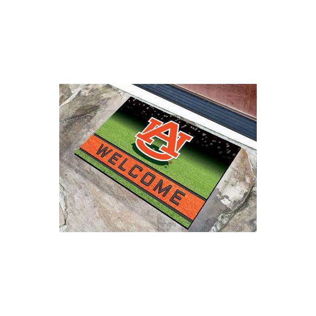 FANMATS 21910 Team Color Crumb Rubber Atlanta Braves Door Mat