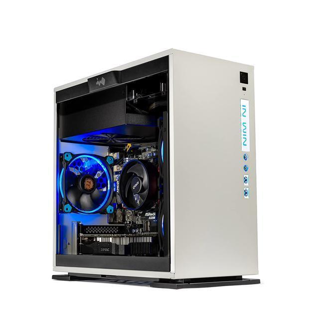 SkyTech Omega Mini Gaming Computer Desktop PC AMD Ryzen 5